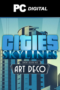 Cities: Skylines - Content Creator Pack: Art Deco DLC PC