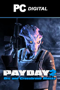 PAYDAY 2: Orc and Crossbreed Masks DLC PC