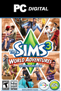 The Sims 3: World Adventures PC DLC