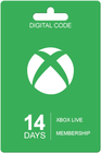 Xbox Live 14 Tage Abo