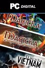 Magicka + Dungeons and Daemons + Vietnam PC