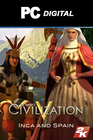 CiV: Double Civilization & Scenario Pack: Spain & Inca DLC PC