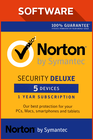 Norton Security Deluxe 5 devices 2017 1 Jahr