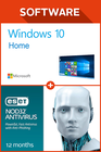Windows 10 Home + ESET NOD32 Anti Virus 12 Monate
