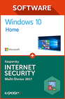Windows 10 Home + Kaspersky 2017 1 PC 1 Jahr