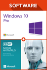 Windows 10 pro + ESET NOD32 Anti Virus 6 monate