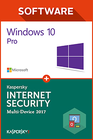 Windows 10 Pro OEM + Kaspersky 2017 1 PC 1 Jahr